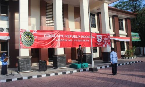 "UPACARA HUT RI KE-75 DI PA SRAGEN ""INDONESIA MAJU"""