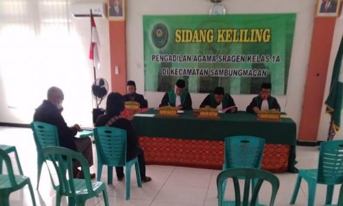 SIDANG KELILING PA SRAGEN DI SAMBUNGMACAN